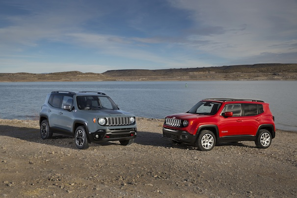 2015 Jeep Renegade Trailhawk and Latitude Models