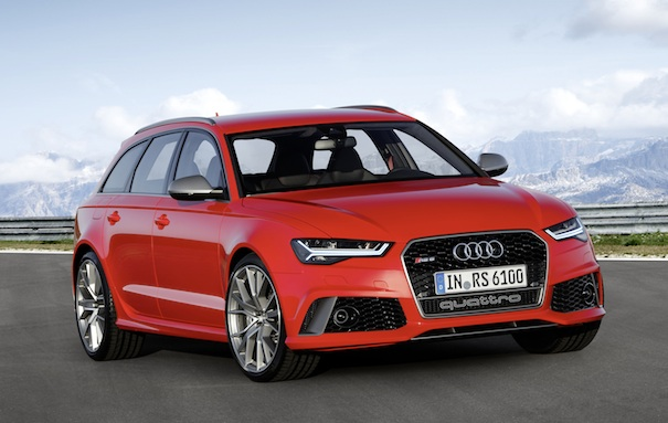 Audi RS 6 Avant performance, Farbe: Misano Red